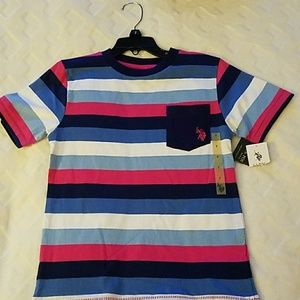 NWT Boys Size 7 U.S. Polo Assn. shirt